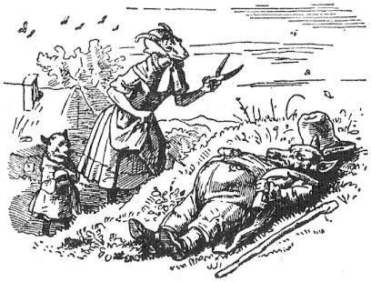 Immagine: Il lupo e i sette caprettini (Grimm)
